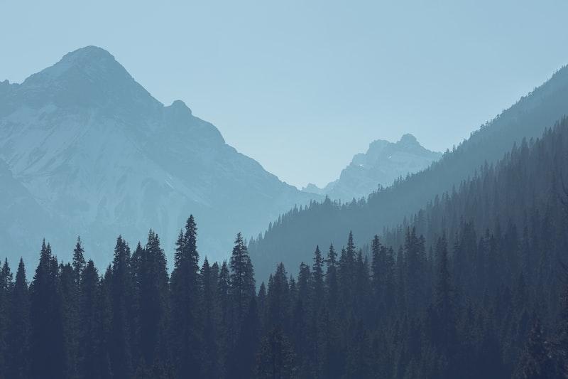 雪山 天空 極光 情書 愛情
