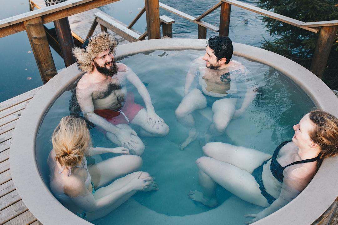 A barrel sauna (hot tub) in Estonia
