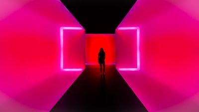 neon zoom background