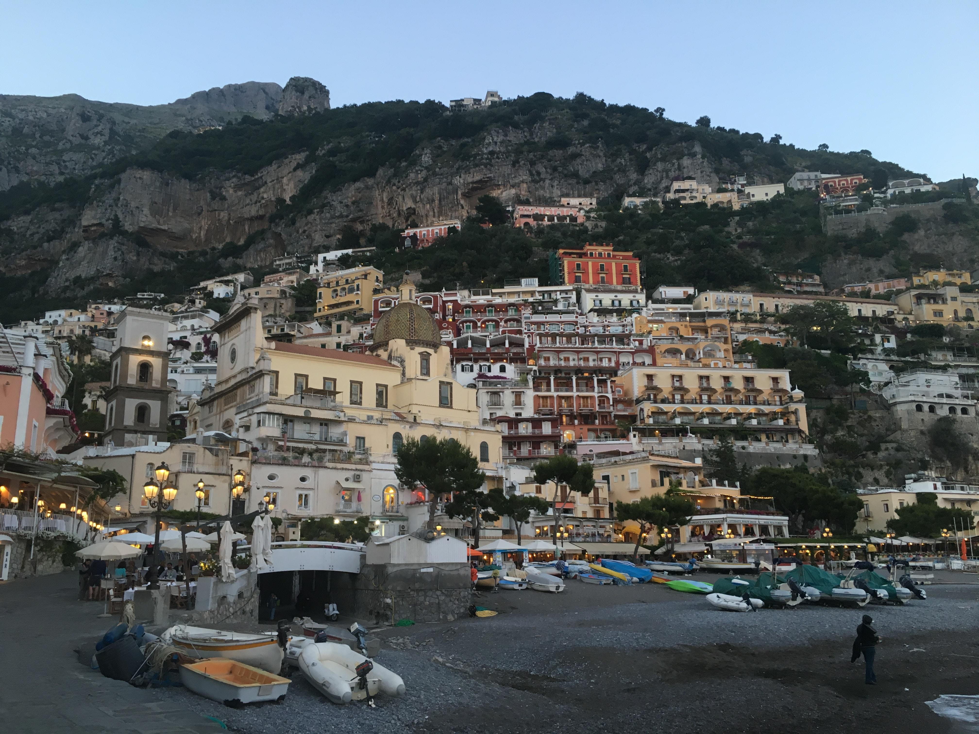 urban city near seashore during dayitme