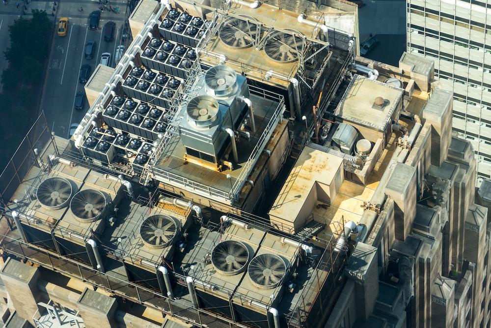 factory rooftop