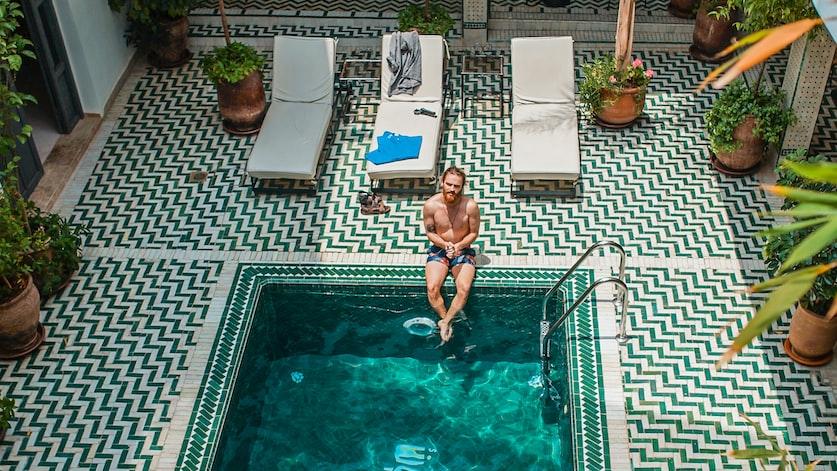 В Марокко можно отлично позагорать и получить массу новых впечатлений