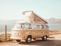 """VW Bus - Baker Beach"""