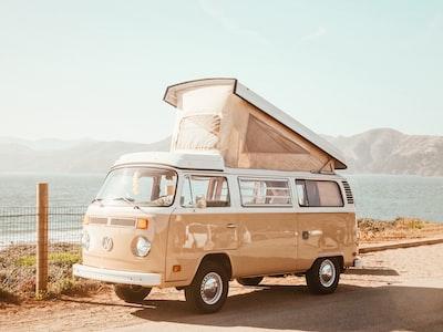 VW Bus - Baker Beach