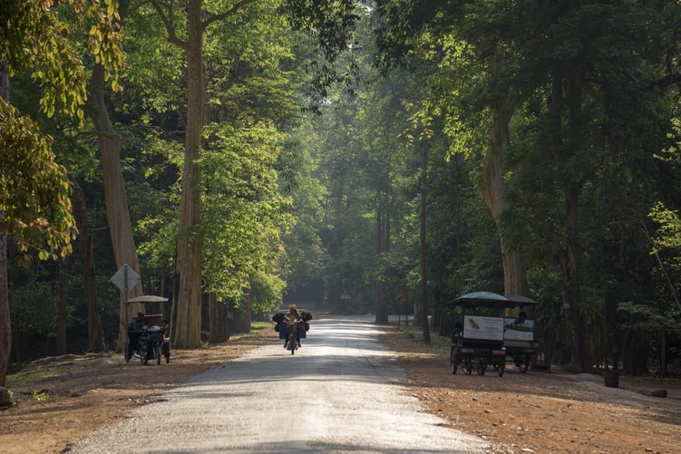 cambodia by road