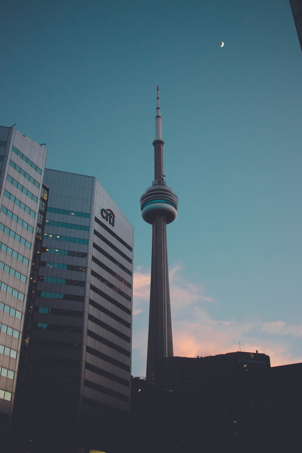 CN Tower by Citi building
