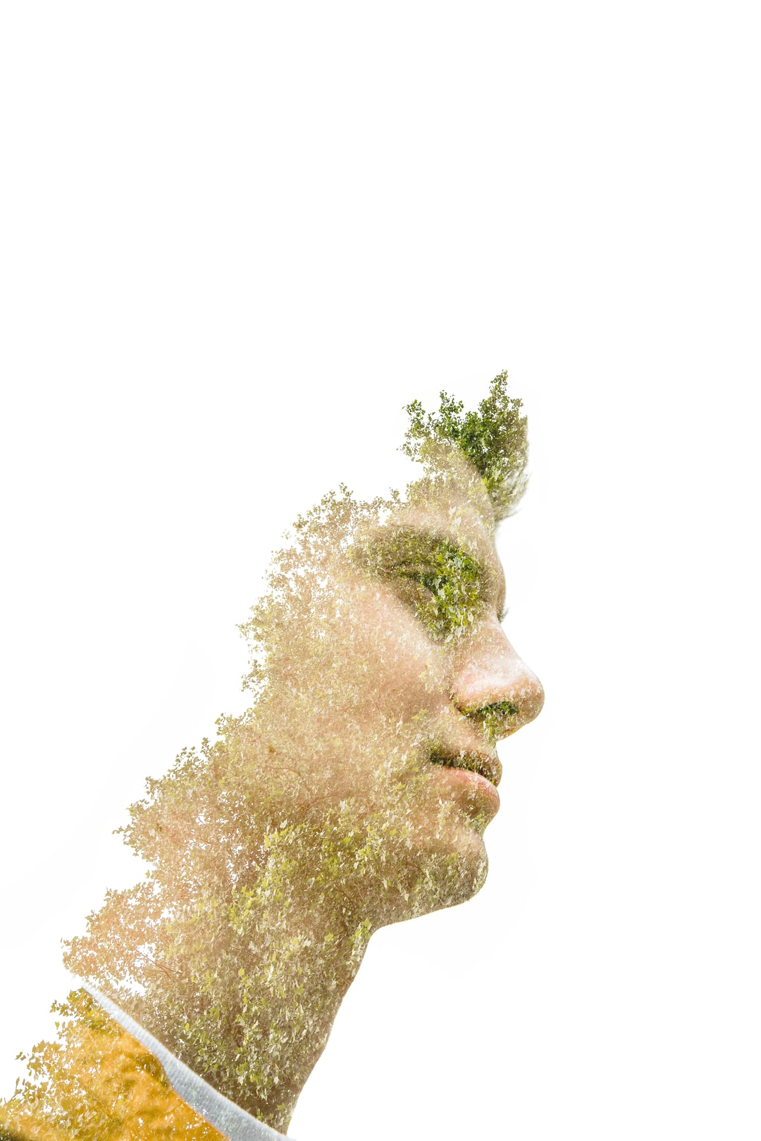 first go at a double exposure