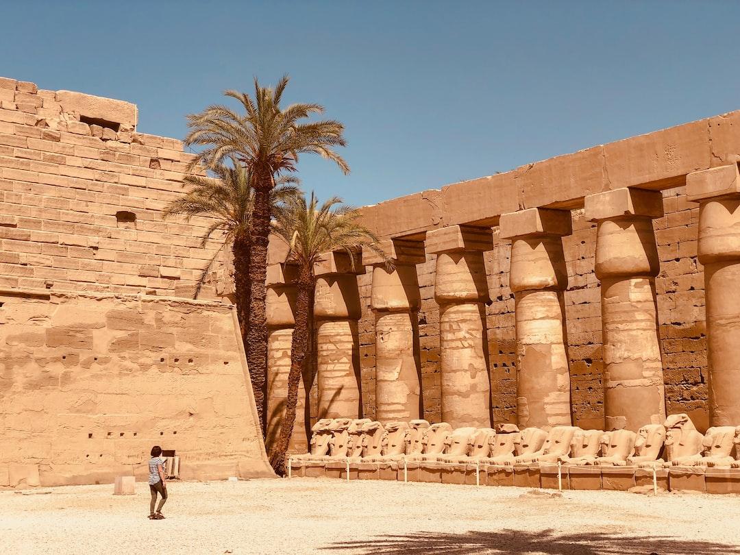 ruins Egypt