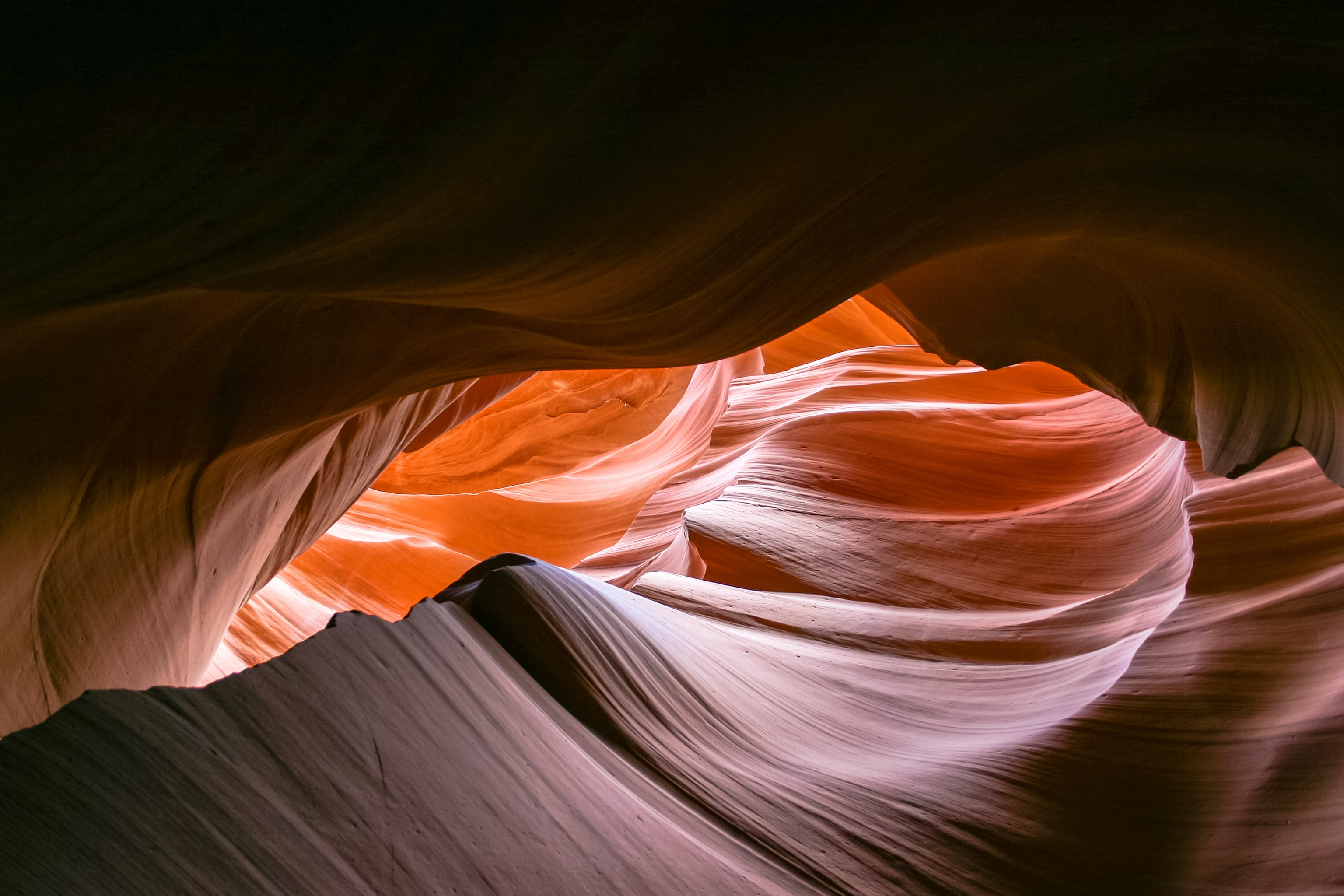 antelope canyon at daytime