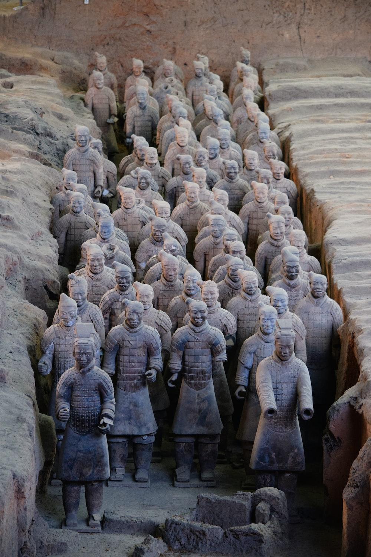 Terracotta Army statue