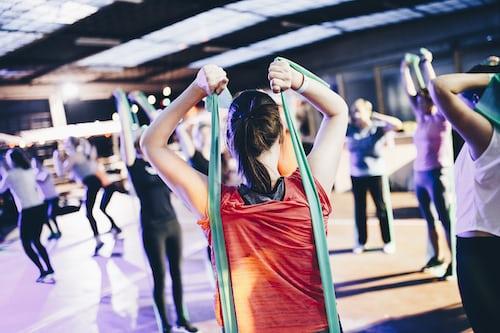 Exercising can be fun