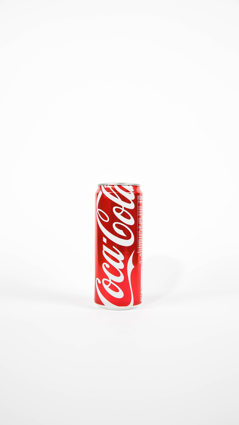 red Coca-Cola can