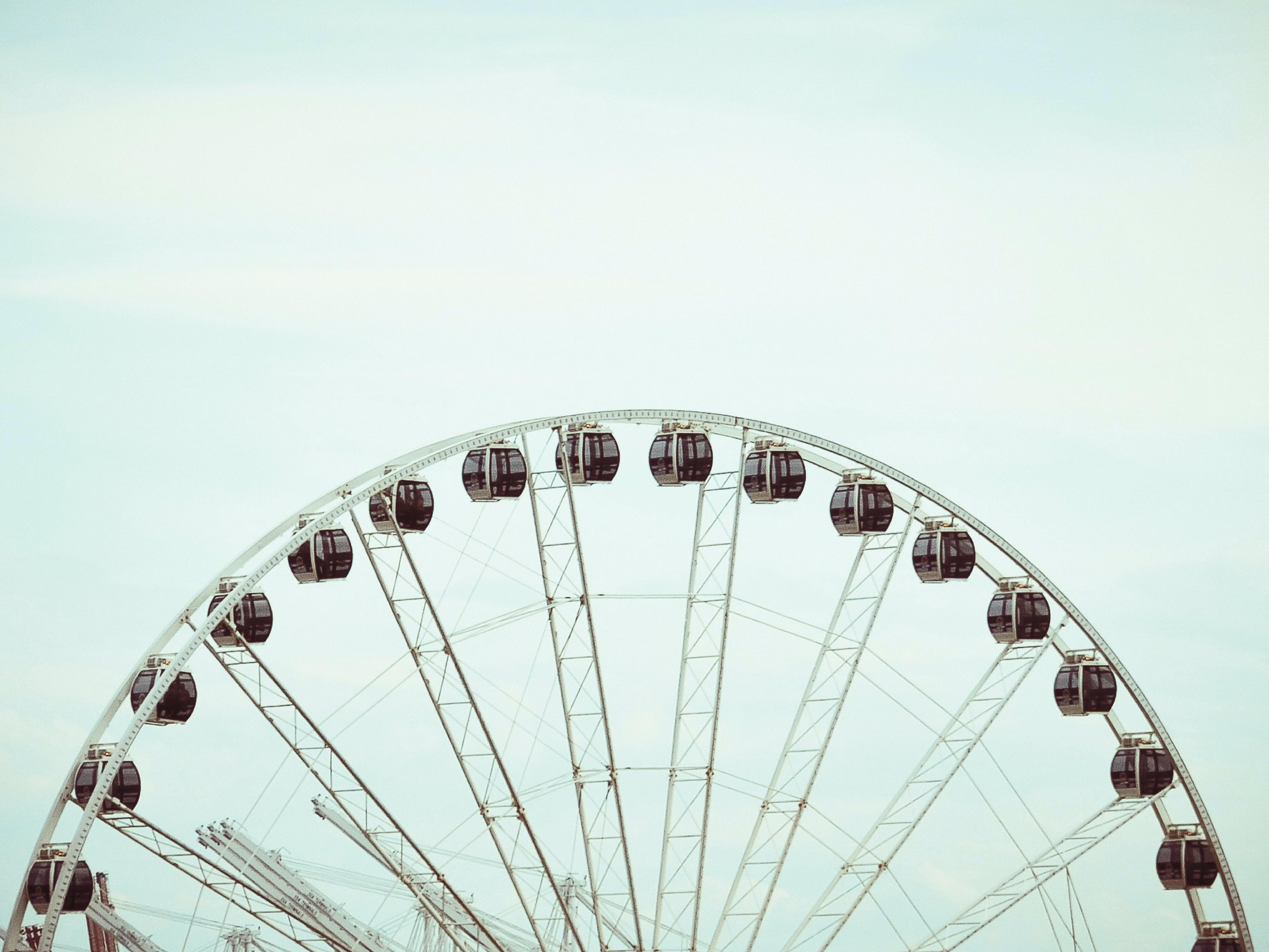 ferris wheel at daytime