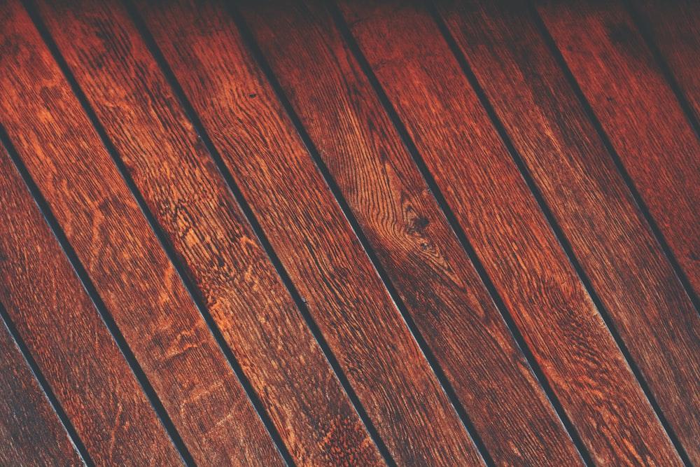 photo of brown parquet