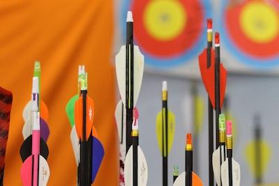 arrow lot archery zoom background