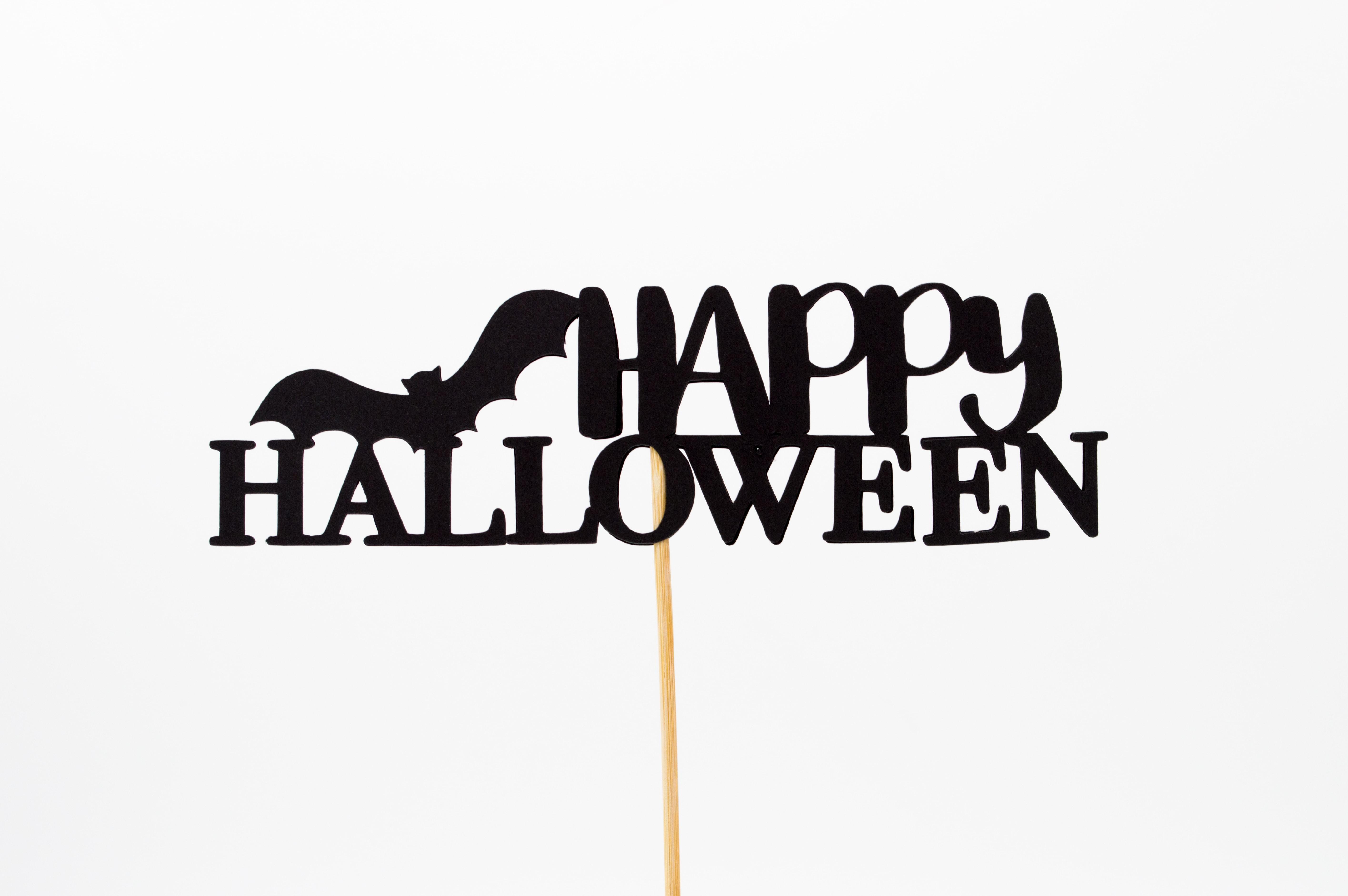 happy Halloween signage