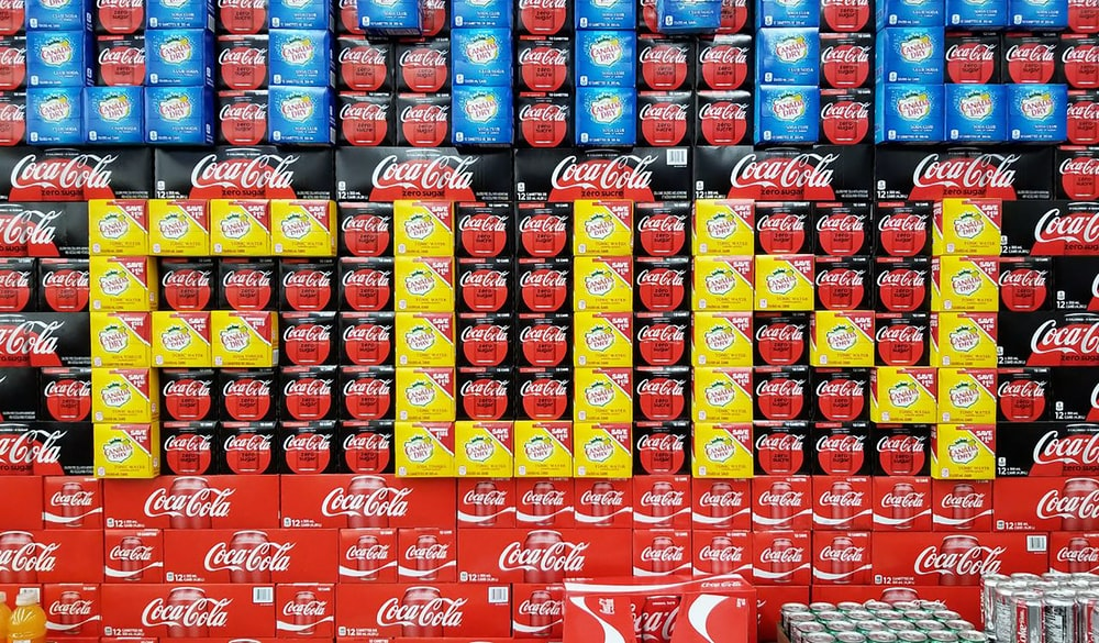 Coca-Cola box lot