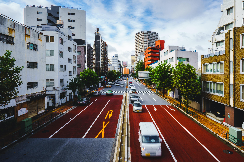 city roads photography