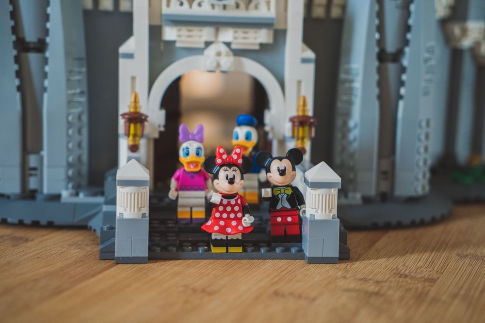 Mickey Mouse and friends lego toy