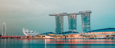 london cityscape at daytime singapore zoom background