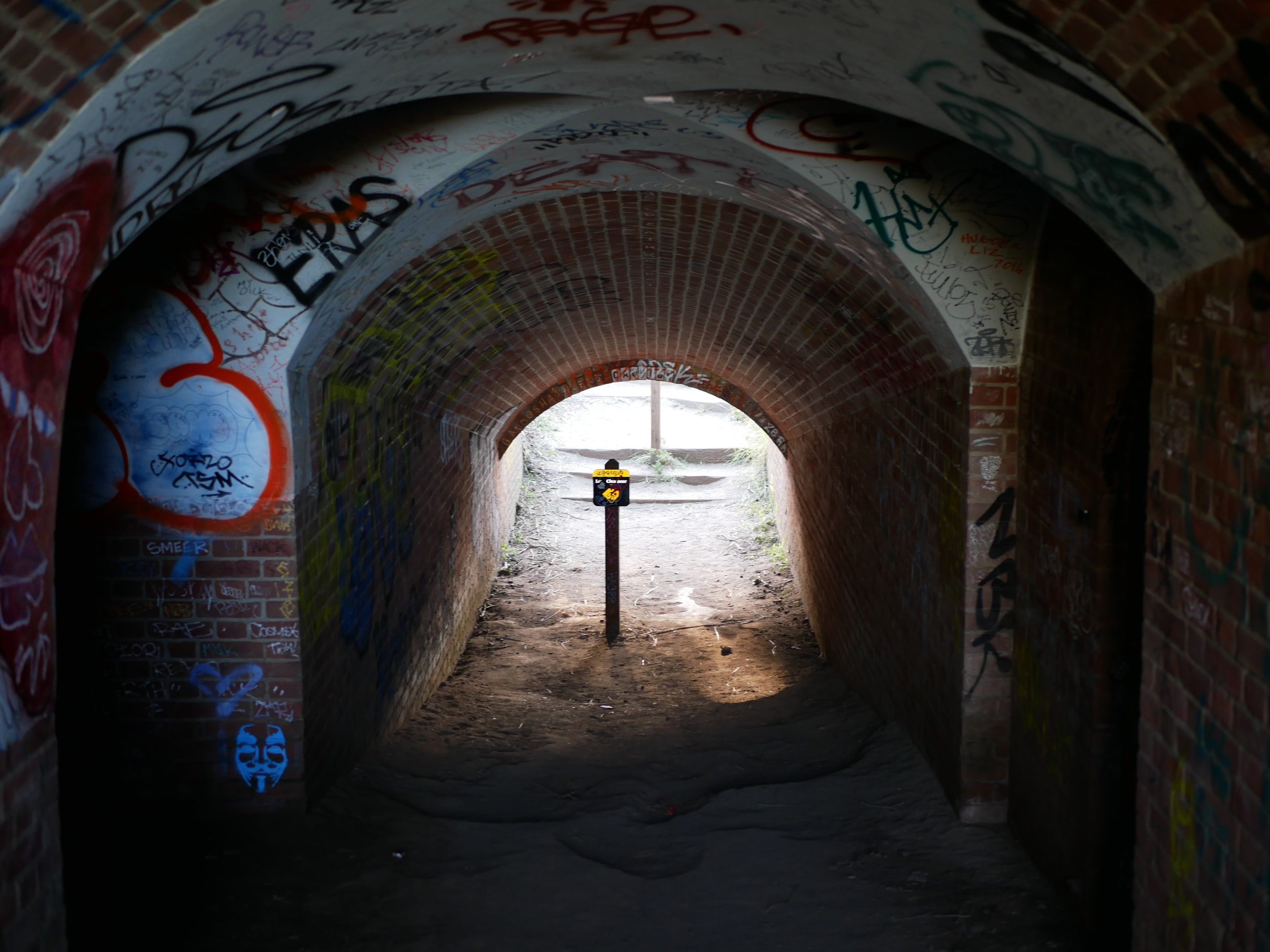 path way and post