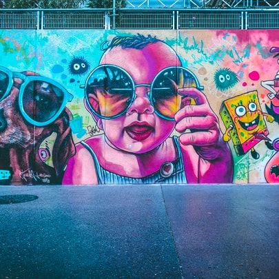 Los graffitis, de arte urbano a servicio profesional