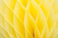 yellow paper artwork