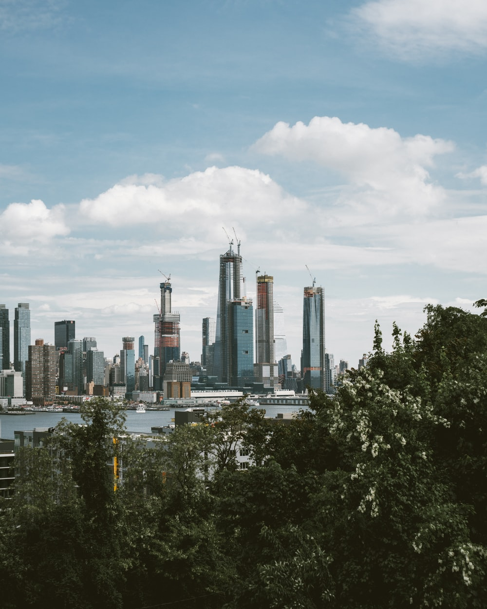 panoramic photography of cityscape