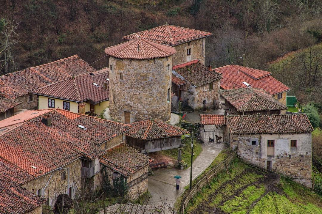 Banduxo, Medieval Village, Asturias, Spain