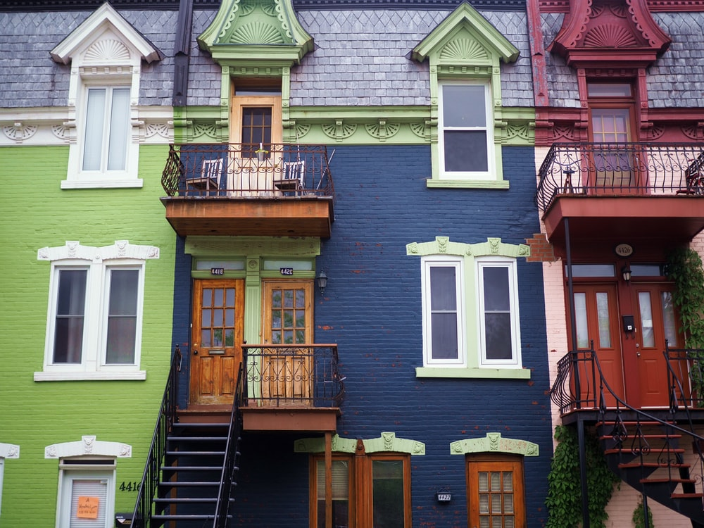 multicolored windows