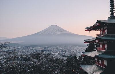 mt. fuji japan teams background