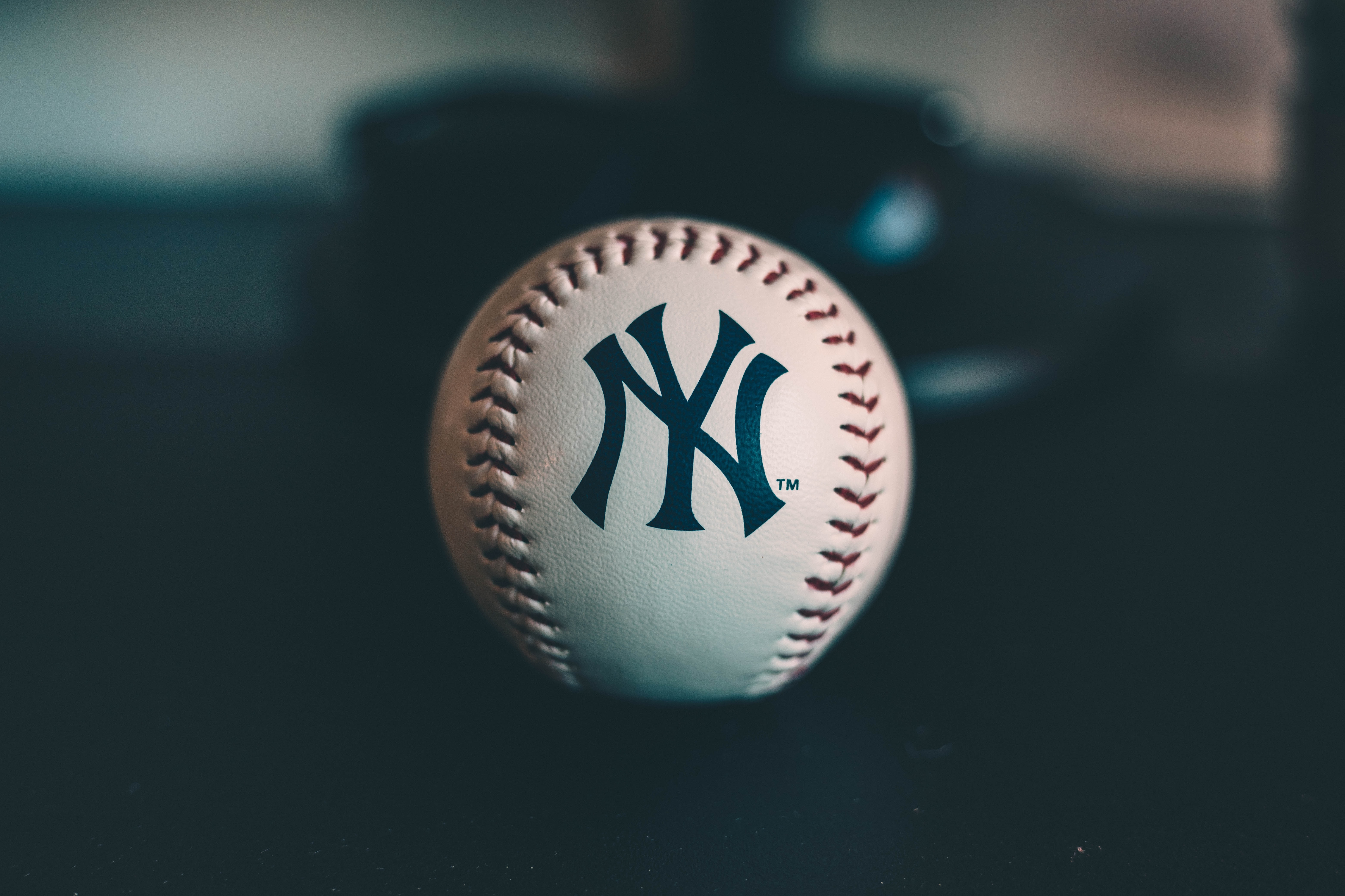 white New York baseballl