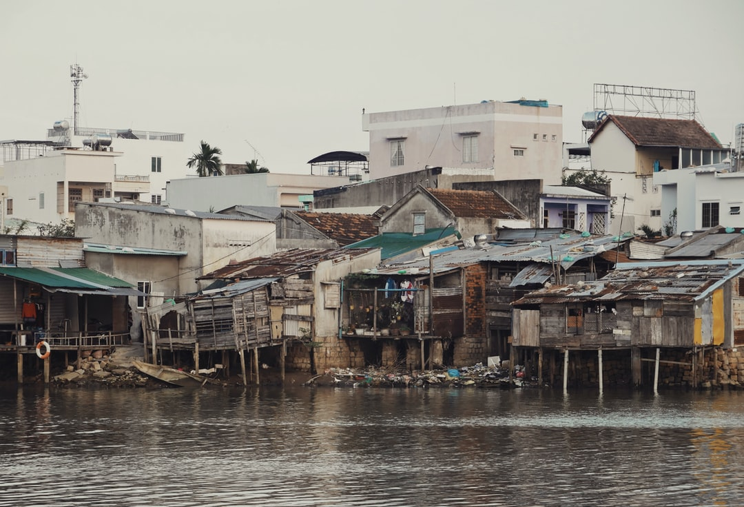 I saw these homes in Nha Trang while motorbiking around the city and had to stop to capture them at sunset.