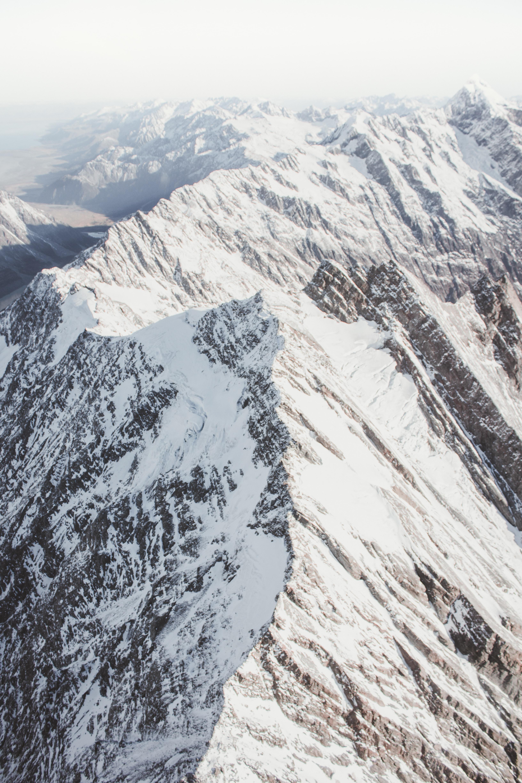 photo of glacier mountain during daytime