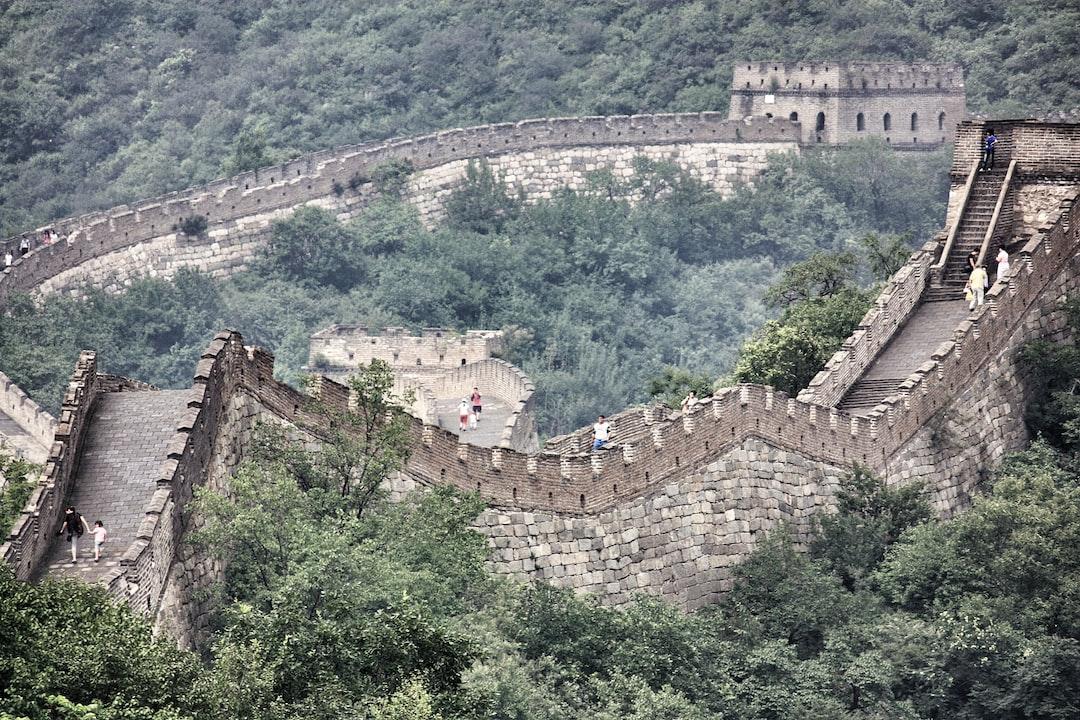 Mutianyu est une partie de la grande muraille de Chine située à 70 km au nord-ouest de la ville de Pékin.