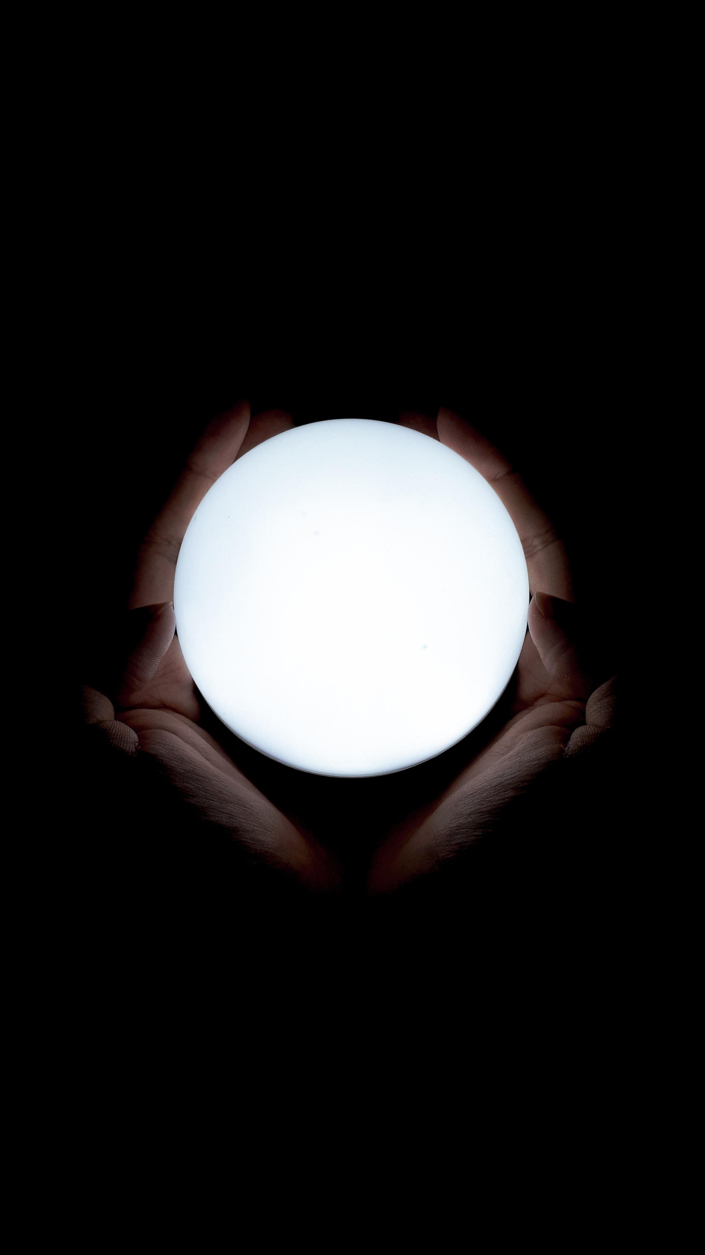 white ball decor
