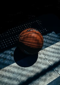 red basketball