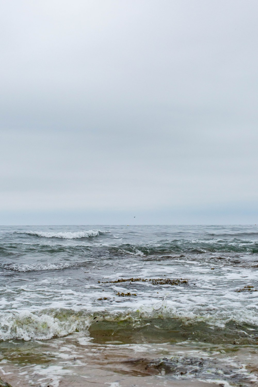 scenery of ocean during daytim