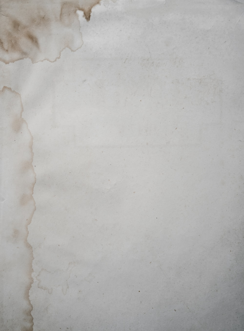 white cloth with stain