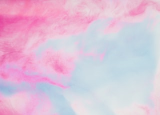 Pink and blue marbled background
