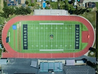 aerial view photography of football field