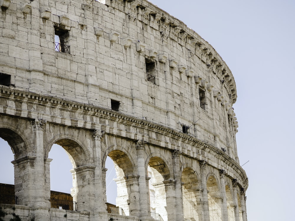 low angle photography of The Colosseum