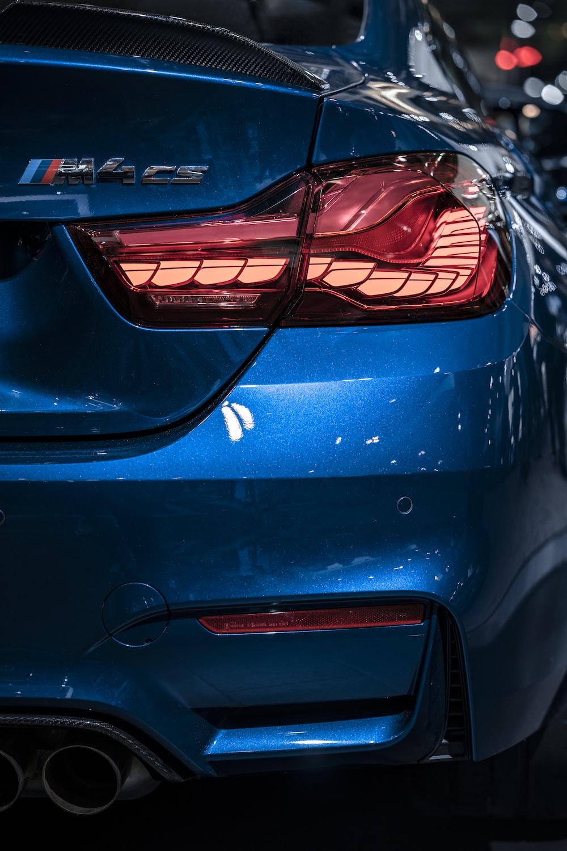black BMW M4 CS car