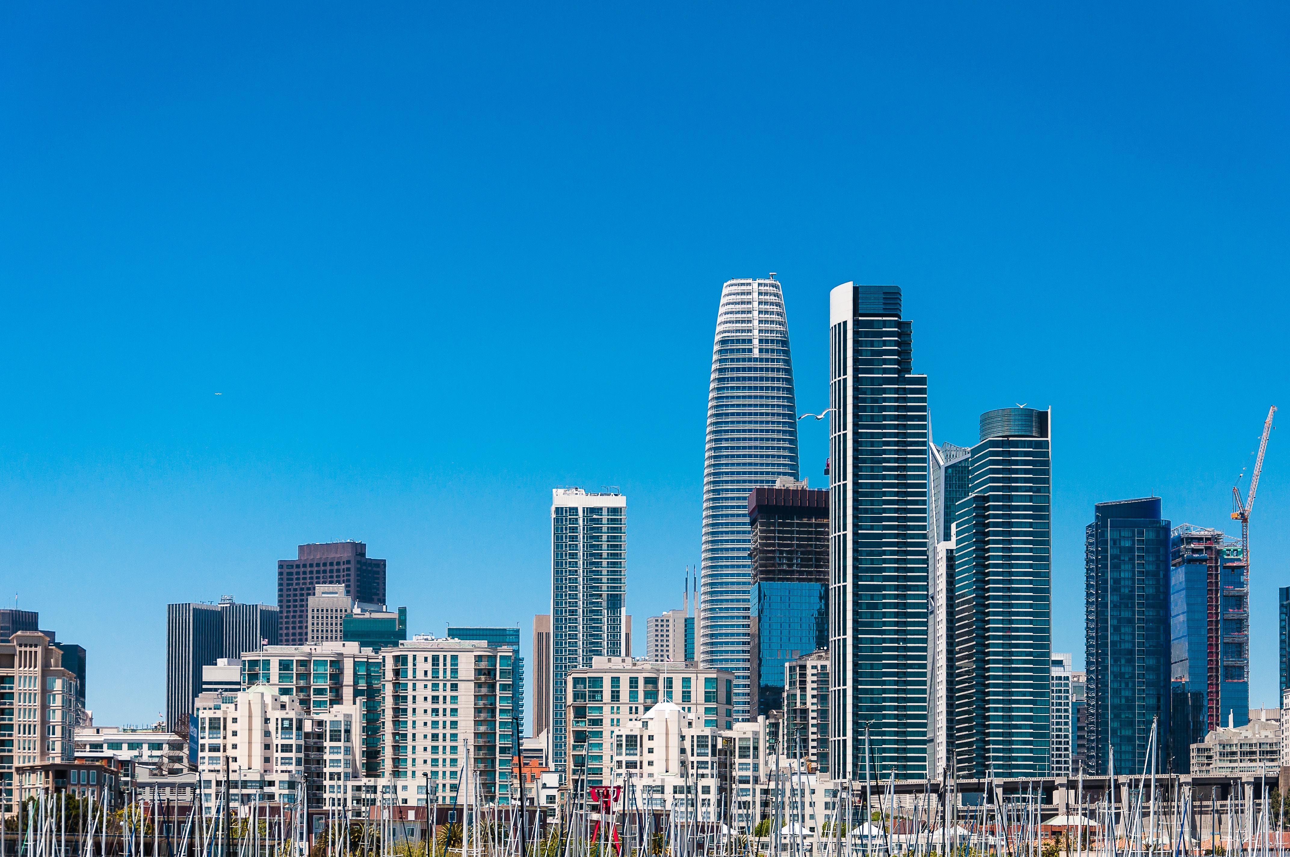 city under blue sky at daytime