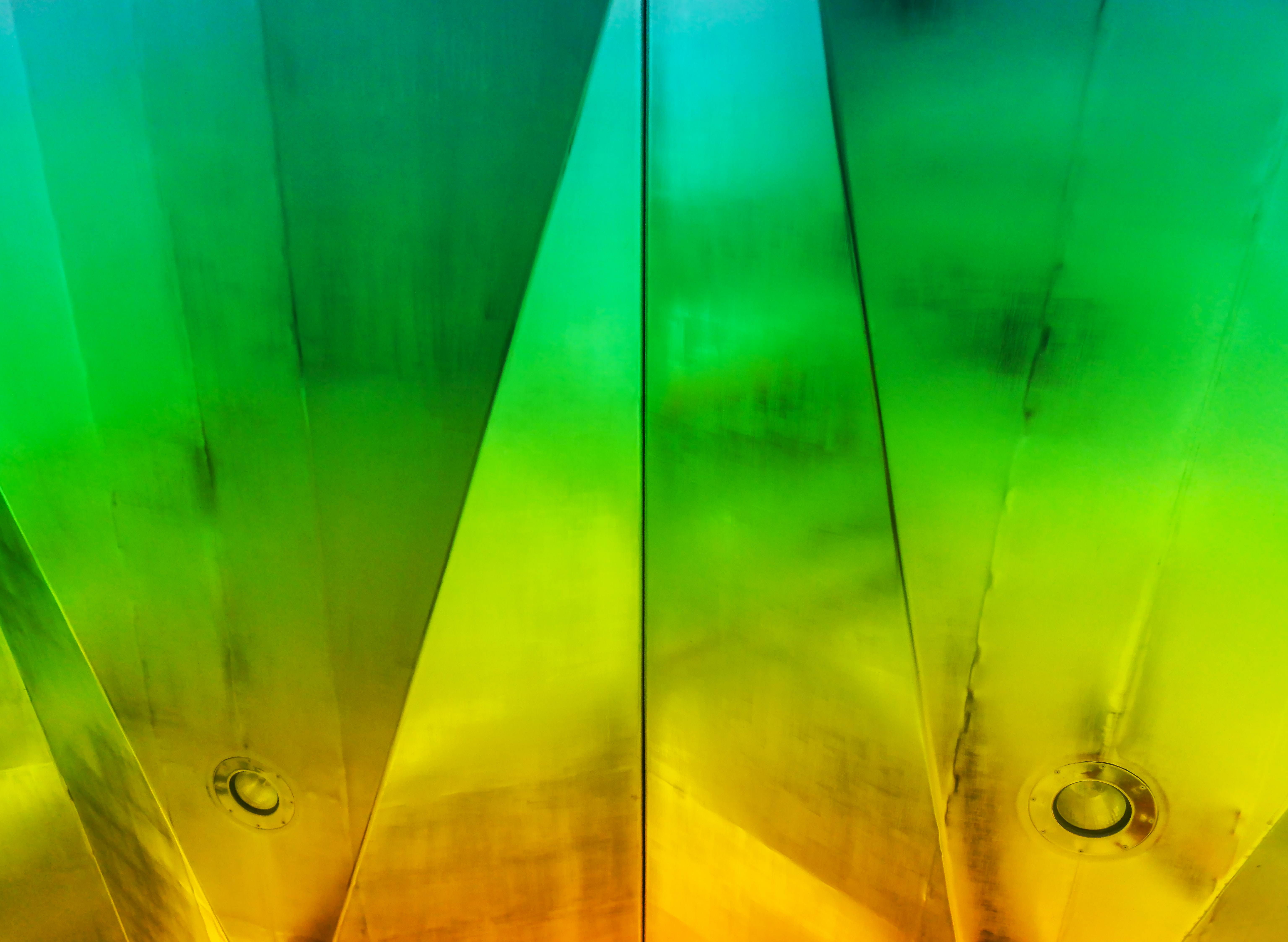 green and yellow abstract wallpaper