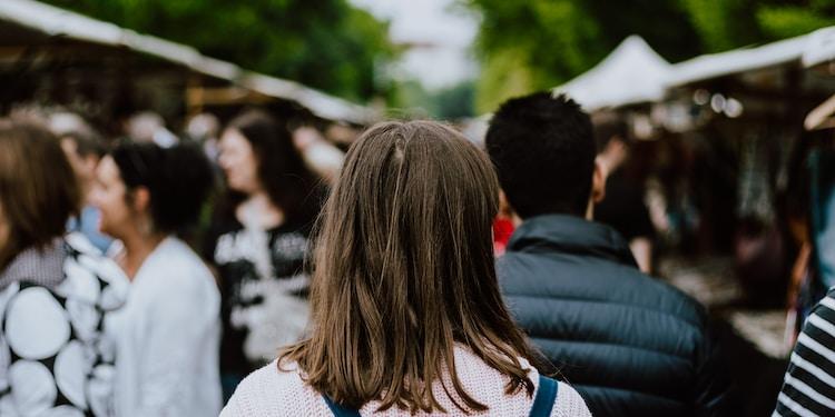 people walking at daytime
