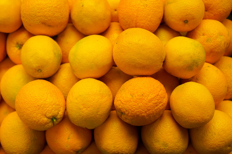 photo of orange lot
