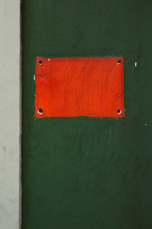 orange wall paint
