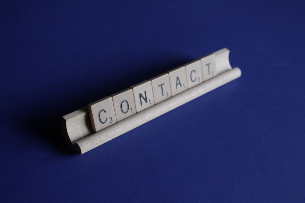 Contact scrable