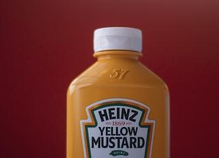 亨氏黄芥末瓶